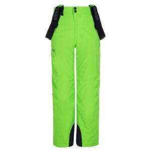 Dětské zimní lyžařské kalhoty kilpi methone-jb zelená 146