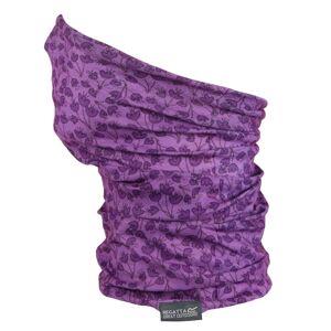 Dětský multifunkční šátek regatta multitube fialová