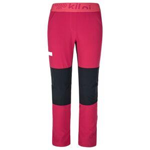 Dívčí kalhoty kilpi karido-jg růžová 134_140