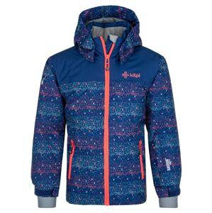 Dívčí lyžařská bunda kilpi jenova-jg tmavě modrá 122_128