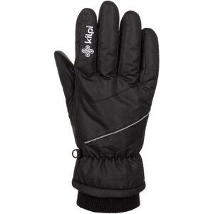 Lyžařské rukavice kilpi tata-u černá l