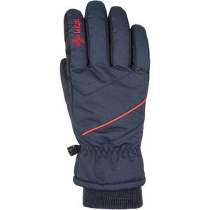 Lyžařské rukavice kilpi tata-u tmavě modrá s