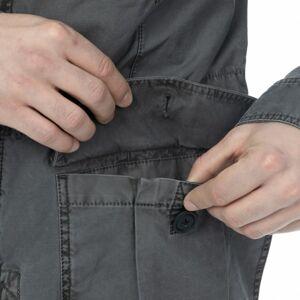 Pánská bunda bushman jackson ii tmavě šedá xxl
