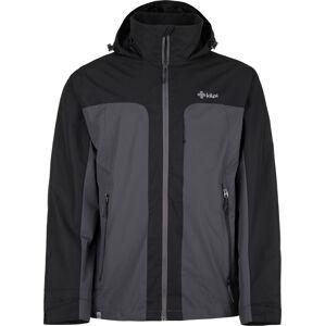 Pánská bunda kilpi ortler-m tmavě šedá  xl
