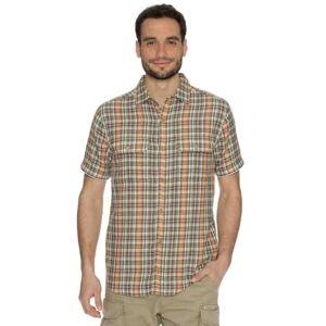 Pánská košile bushman fame oranžová xxl