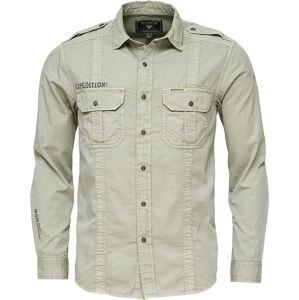 Pánská košile bushman indiana světle zelená xxxl