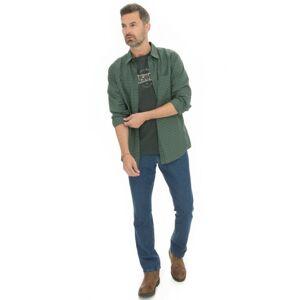 Pánská košile bushman portage tmavě zelená xl