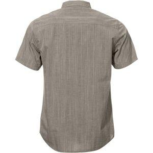 Pánská košile bushman taft hnědá xxl