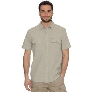 Pánská košile bushman well short krémová xl
