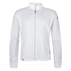 Pánská lehká běžecká bunda kilpi tirano-m bílá xxl