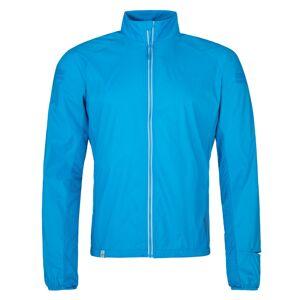 Pánská lehká běžecká bunda kilpi tirano-m modrá s