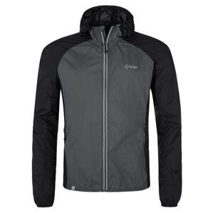 Pánská lehká outdoorová bunda kilpi rosa-m černá 3xl