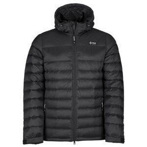 Pánská lehká péřová bunda kilpi svalbard-m černá m
