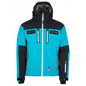 Pánská lyžařská bunda kilpi team jacket-m černá  m