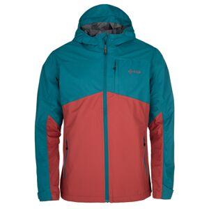 Pánská outdoorová bunda kilpi orleti-m tmavě červená xxl