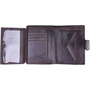 Pánská peněženka bushman kasane tmavě hnědá uni