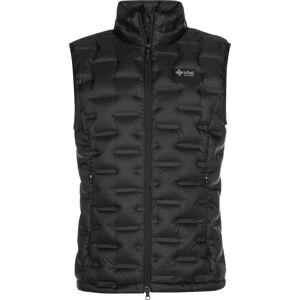 Pánská péřová vesta kilpi kenai-m černá 3xl