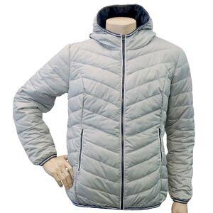Pánská prošívaná bunda gts 5008 šedá l
