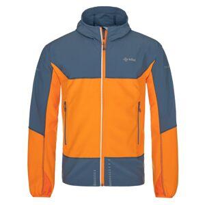 Pánská softshellová bunda kilpi balans-m modrá xl