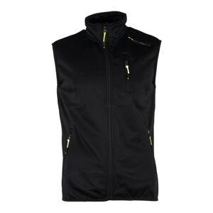 Pánská softshellová vesta gts 4506 černá xl