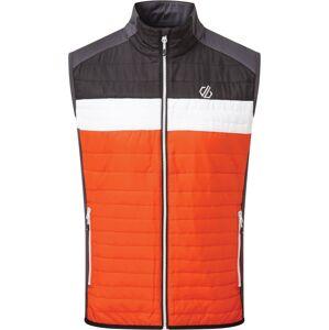 Pánská vesta dare2b mountaineer černá/oranžová xl