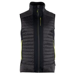 Pánská vesta gts 4043 tmavě šedá m