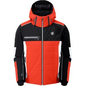 Pánská zimní bunda dare2b out force černá/oranžová s