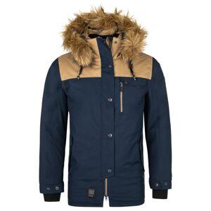 Pánská zimní bunda kilpi alpha-m tmavě modrá s