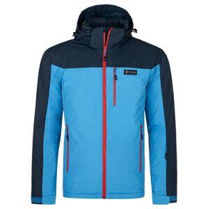 Pánská zimní bunda kilpi flip-m modrá xl