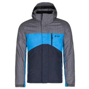 Pánská zimní bunda kilpi ober-m tmavě modrá xl