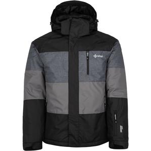 Pánská zimní bunda kilpi ormes-m černá   s