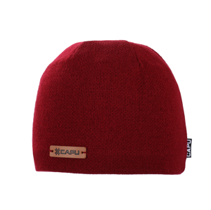 Pánská zimní čepice capu 1691 červená