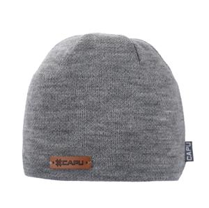 Pánská zimní čepice capu 1691 světle šedá