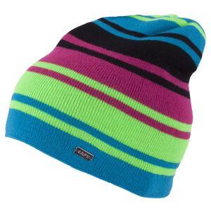 Pánská zimní čepice capu 1728 tyrkysová/zelená