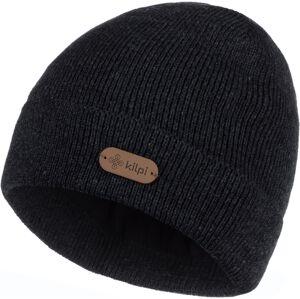 Pánská zimní čepice kilpi benji-m černá uni uni