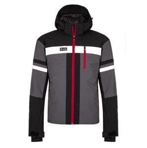 Pánská zimní lyžařská bunda kilpi ponte-m tmavě šedá xs