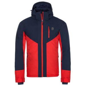 Pánská zimní lyžařská bunda kilpi tauren-m červená 6xl