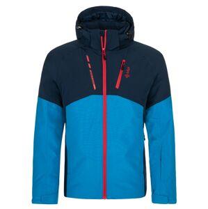 Pánská zimní lyžařská bunda kilpi tauren-m modrá s
