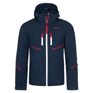 Pánská zimní lyžařská bunda kilpi tonn-m tmavě modrá xxl