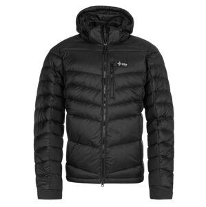 Pánská zimní péřová bunda kilpi guus-m černá s