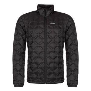 Pánská zimní péřová bunda kilpi papilon-m černá xl