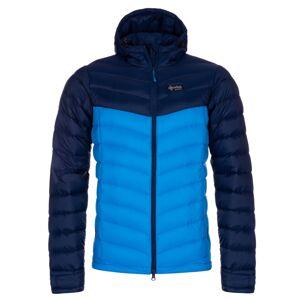 Pánská zimní péřová bunda kilpi pyramiden-m modrá  xl