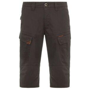 Pánské 3/4 kalhoty bushman woodin ii tmavě hnědá 56