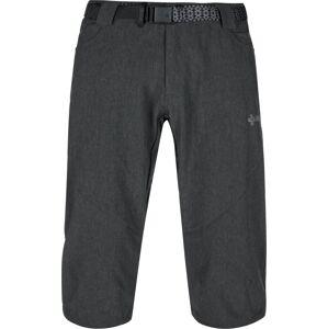Pánské 3/4 kalhoty kilpi otara-m tmavě šedá  xs