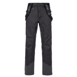 Pánské 3 vrstvé technické kalhoty kilpi lazzaro-m černá ss