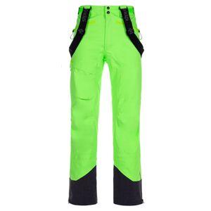 Pánské 3 vrstvé technické kalhoty kilpi lazzaro-m zelená xl