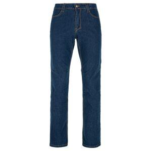 Pánské bavlněné kalhoty kilpi danny-m tmavě modrá l