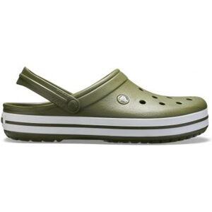 Pánské boty crocs crocband tmavě zelená 42-43