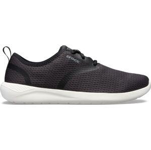 Pánské boty crocs literide mesh lace m černá/bílá 41-42