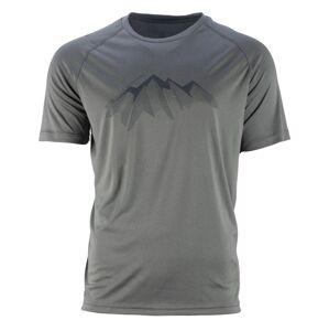 Pánské funkční tričko gts 211211 světle šedá m